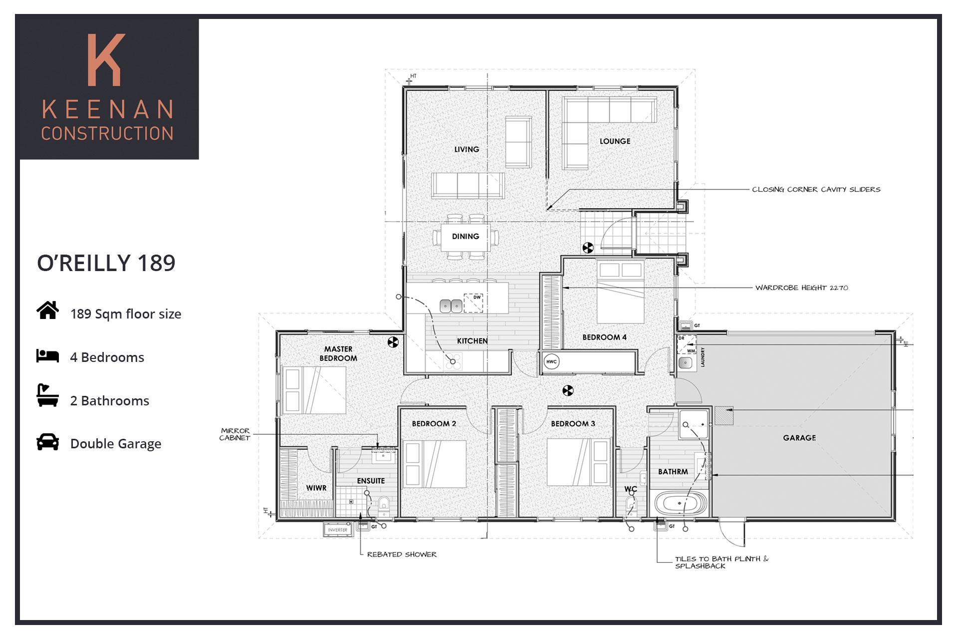 OReilly 189 Floor Plans