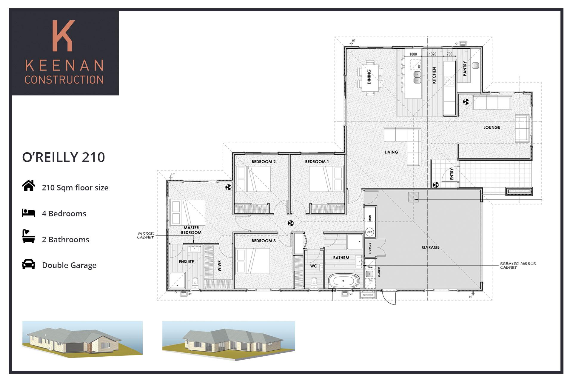 OReilly 210 Floor Plans