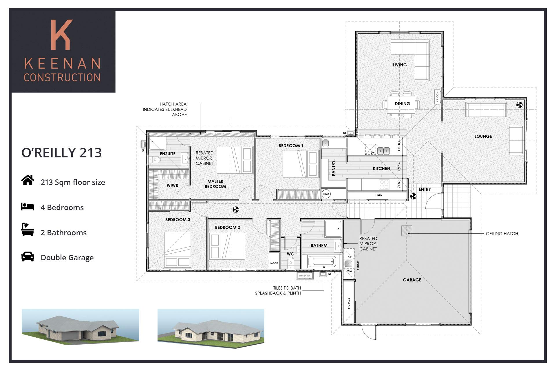 OReilly 213 Floor Plans