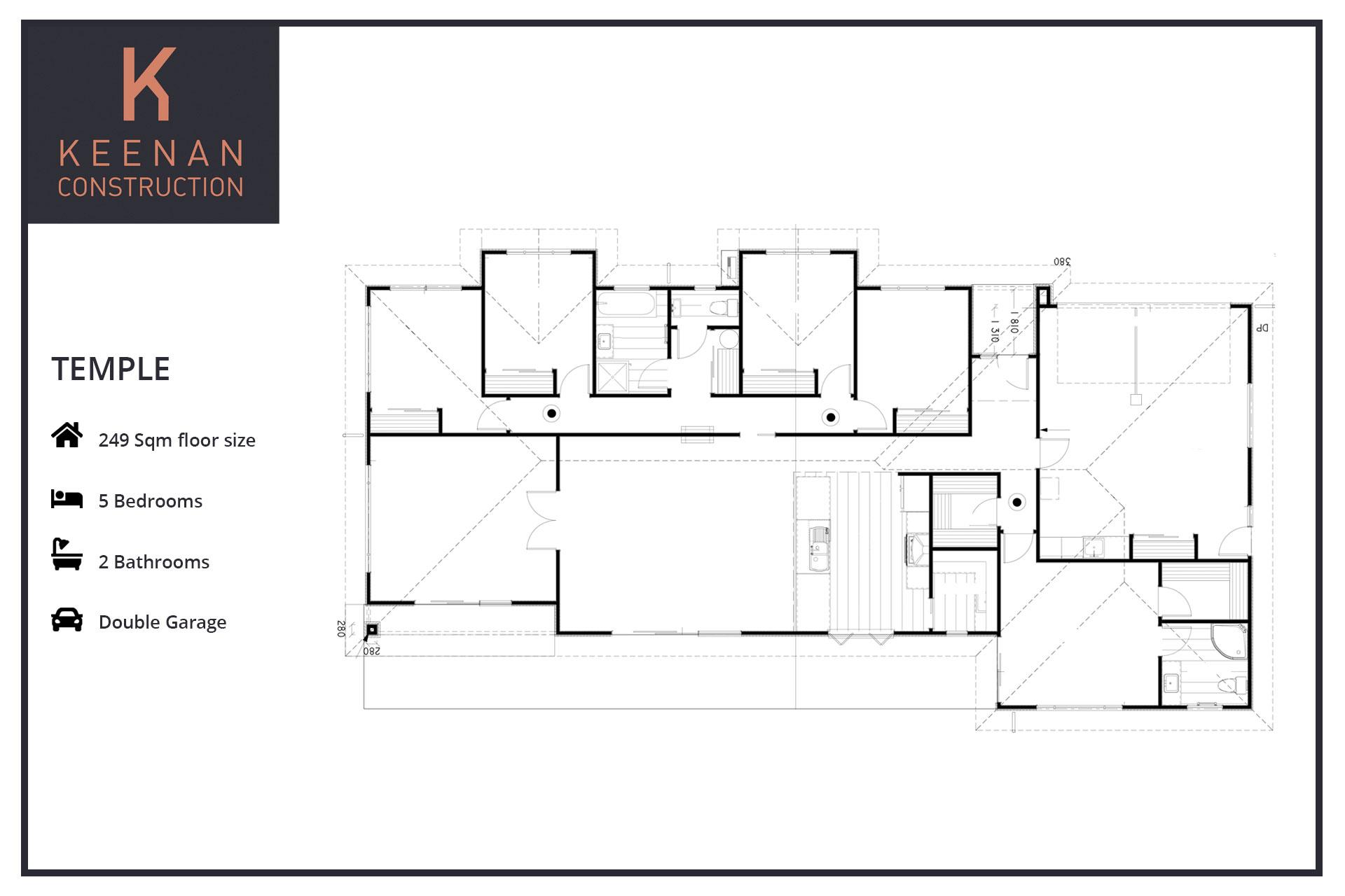 Temple 180 Floor Plans